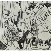 the bar by ernst ludwig kirchner
