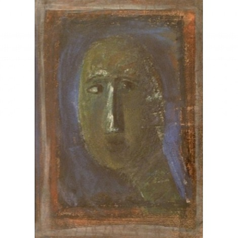 portrait of a woman by marino marini
