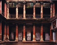 courtyard, mitra house, north calcutta, india by laura mcphee