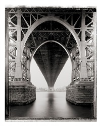 williamsburg bridge, 2001 by christopher thomas