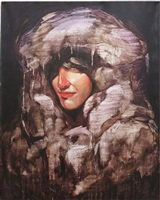 liza with fur coat by dan sabau