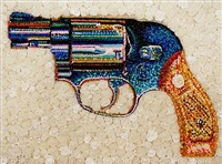 the gun in roses 38 by lisa alonzo