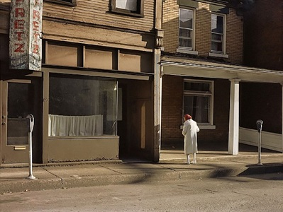 jerome liebling, morning, monessen, pennsylvania, 1983 by jerome liebling