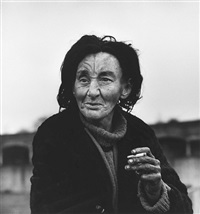 jean, a homeless woman, liverpool street, east london by don mccullin