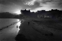 scarborough, east coast, england, winter by don mccullin