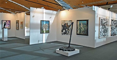 art karlsruhe, installation view