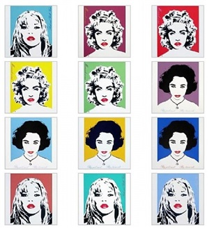 celebrity portfolio (liz / kate / madonna ) by bambi