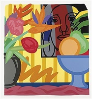 mixed bouquet with leger by tom wesselmann