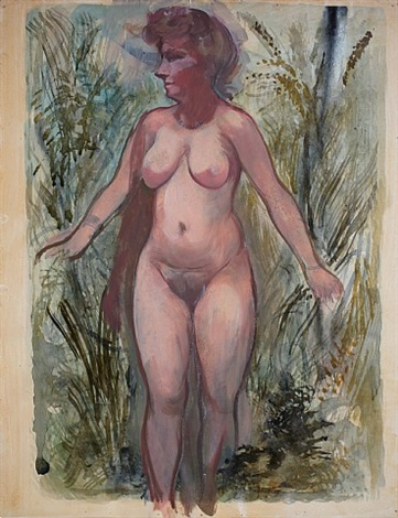 nackte, cape cod by george grosz