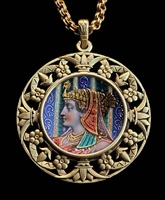 egyptian revival: pendant