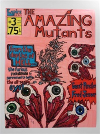 amazing mutants #3 (fred jesser) by michael scoggins