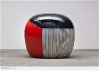 untitled (dango 4' wide) by jun kaneko