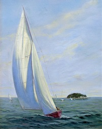 sailing off tuxis by james magner
