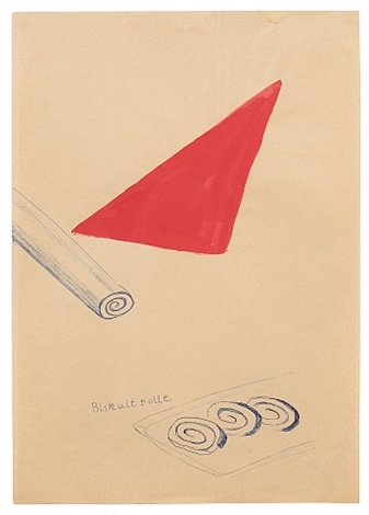 biskuitrolle (biscuit roll) by sigmar polke