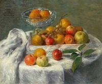 pommes et oranges by henry lerolle