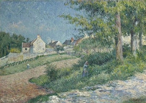 paysage de campagne by victor alfred paul vignon