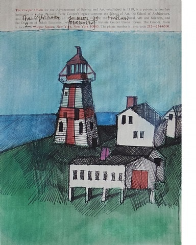 the lighthouse 2 by aldo rossi
