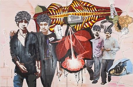 art dubai 2014 by kehinde wiley