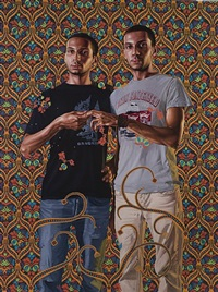 portrait of a couple, 1912-1956, by kehinde wiley