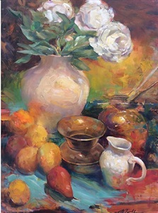 still life with cuspidor by jeff moulton