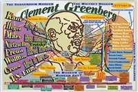 clement greenberg by loren munk