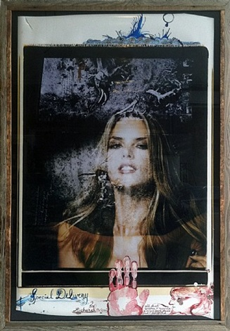 model 'special delivery' by peter beard
