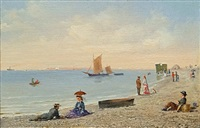 the beach at normandy (2) by conrad wise chapman
