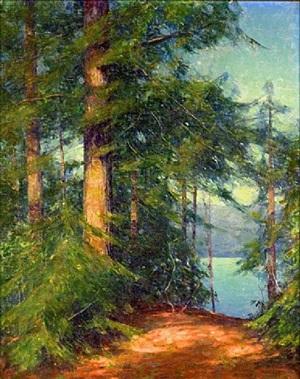 woodland view by allen dean cochran