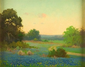 bluebonnets of texas by porfirio salinas