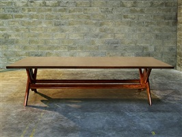 boomerang table by pierre jeanneret