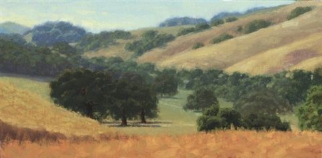 san antonio creek, sonoma county, ca by carol peek
