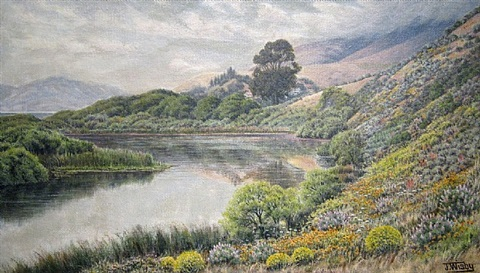 poison lake, stinson beach by jack wisby