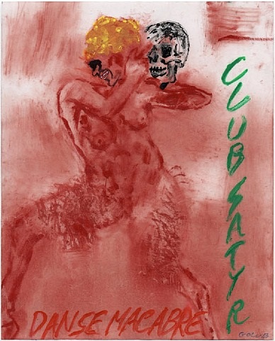 danse macabre by leon golub