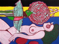 nu a la rose by corneille