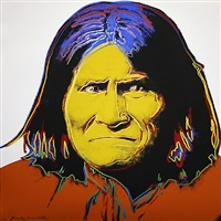 geronimo fs 11.384 by andy warhol