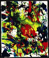 ohne titel / untitled (sff 1734) by sam francis