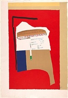 america - la france variations i by robert motherwell