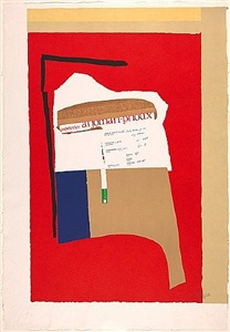 robert motherwell collages and prints from the 1970s and 1980s projektraum i by robert motherwell