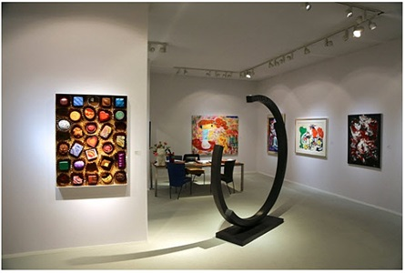installation view tefaf 2014