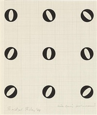 wide spacing fast movement by bridget riley