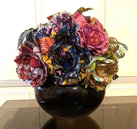 culture flower by yinka shonibare mbe