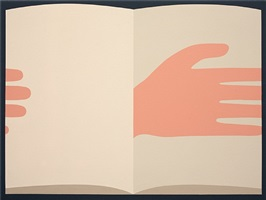 the infinite space (between image and language) by geoff mcfetridge