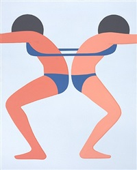 continuous girls by geoff mcfetridge