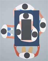 us from above infinitely by geoff mcfetridge