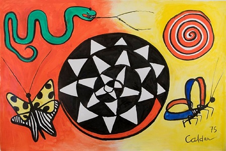 butterfly and serpent by alexander calder
