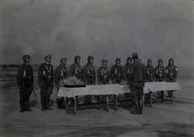 a scene of a ritual by meiro koizumi