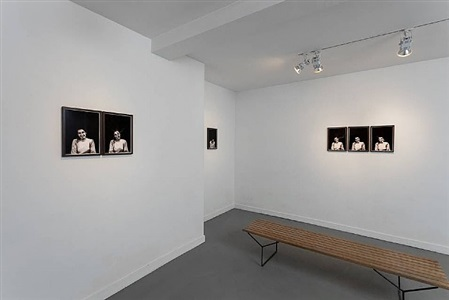 installation view at annet gelink gallery, amsterdam by meiro koizumi