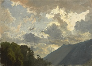 study of clouds by johann gottfried steffan