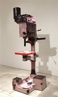 drill press by atelier van lieshout