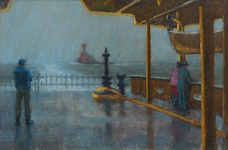 wake of the ferry by joseph peller